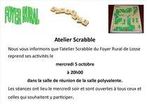 Atelier Scrabble du Foyer Rural